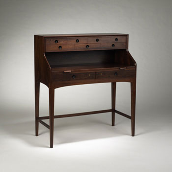 Writing desk by Wright