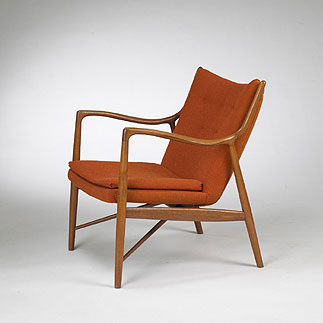 Lounge chair, model no. 45