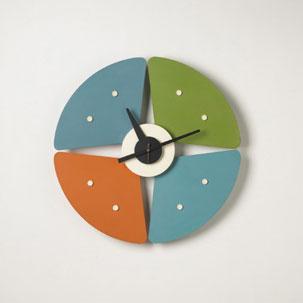 Paddle clock, model no. 2246