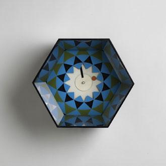 Kaleidoscope clock, model no. 2277