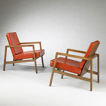 Lounge chairs, model no. 655