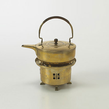 Teapot and burner