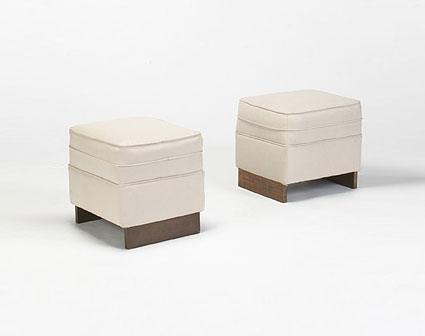 Pair of stools (Price Tower)