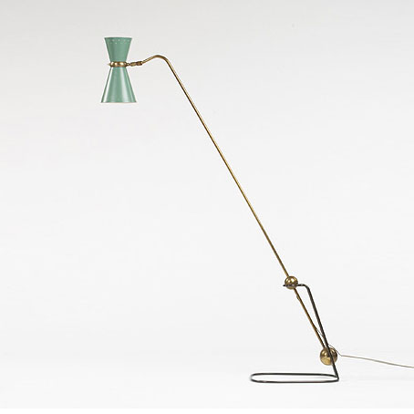 Equilibrium floor lamp by Wright