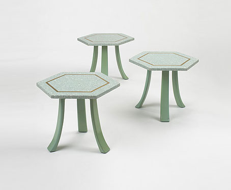 Occasional tables, set of three