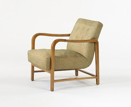 Armchair, model #2580 von Wright