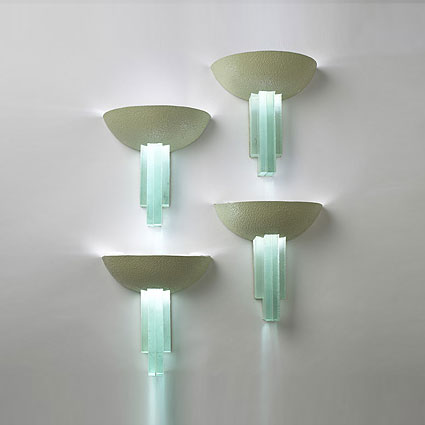 Sconces, set of four