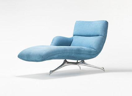 One-Arm Contour chaise