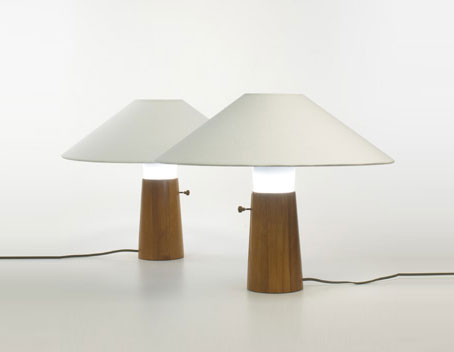 Wright-Table lamps, pair