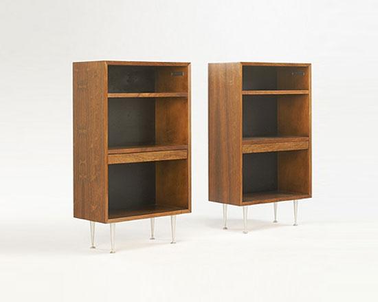 Wright-Nightstands, pair model # 4708