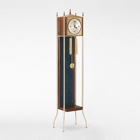 Grandfather clock, model #2256-D di Wright