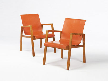 Armchairs model #51, pair