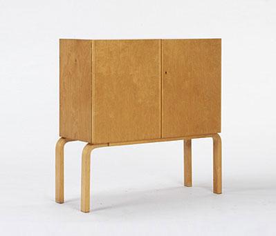 L-leg cabinet