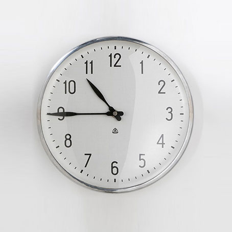Wall clock de Wright