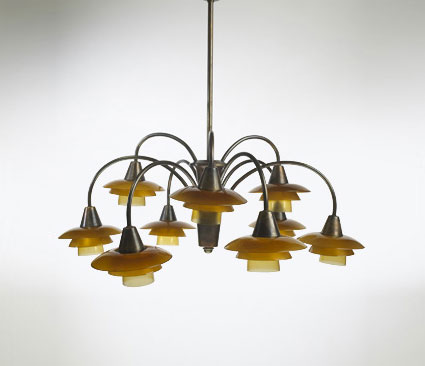 Cascade chandelier