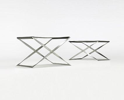 PK 41 folding stools, pair