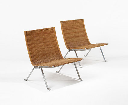 PK 22 chairs, pair