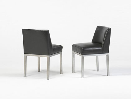 Chairs, pair