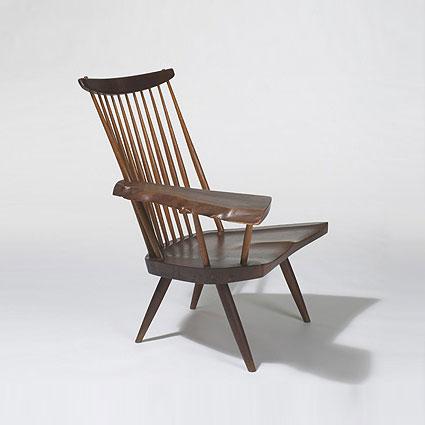 Slab armchair
