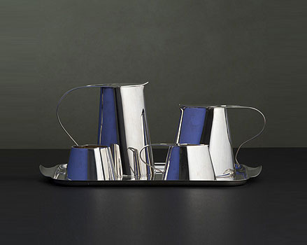 Tea and coffee service, five pieces