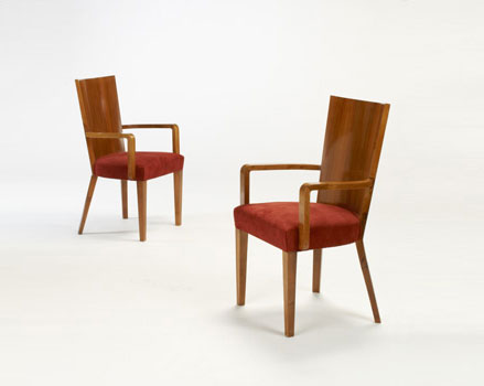 Pair of armchairs for Padova University
