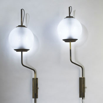 LP-11 sconces, pair