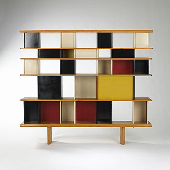 Bookcase from the Maison du Mexique