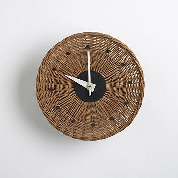 Basket clock, model no. 2215