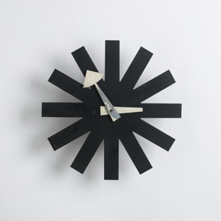 Asterisk clock, model no. 2213