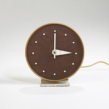Wright-Table clock, model no. 4772