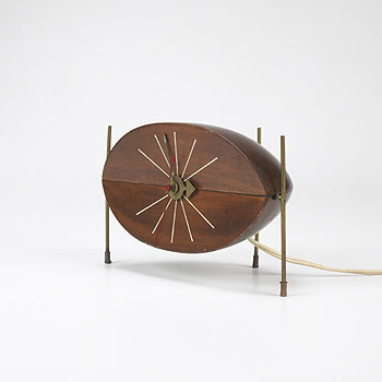 Watermelon clock, model no. 2219 von Wright