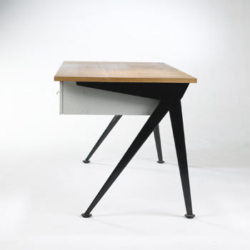 Compass desk by Wright