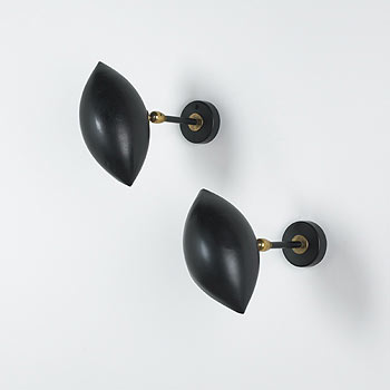 Oeil sconces, pair