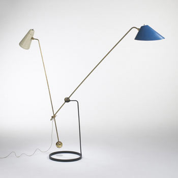 Equilibrium Double-Branch floor lamp