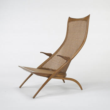 High Back Gazelle lounge chair