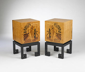 Nightstands, pair