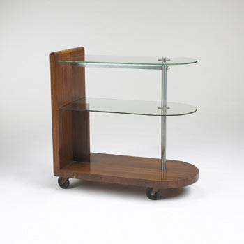 Formal Dining Group serving cart