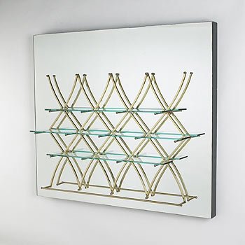 Hanging wall rack