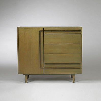 Custom cabinets, pair