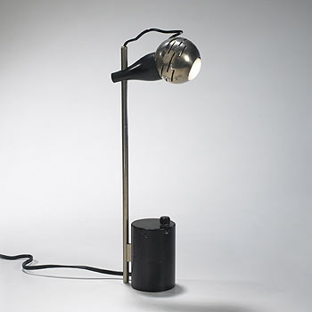 Contrast table lamp