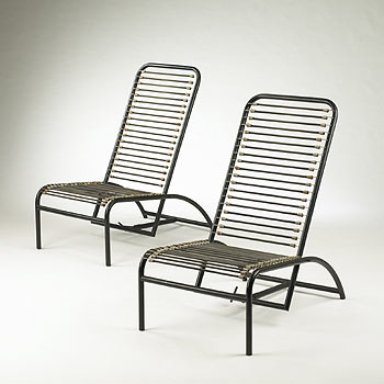 Fauteuil de Repos, pair by Wright