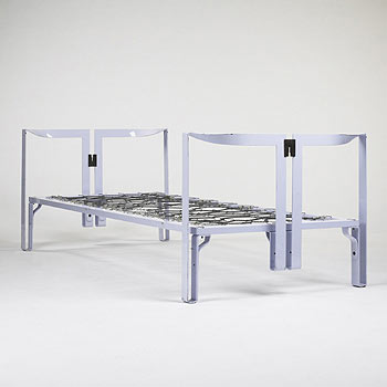 Vanessa beds, pair by Wright