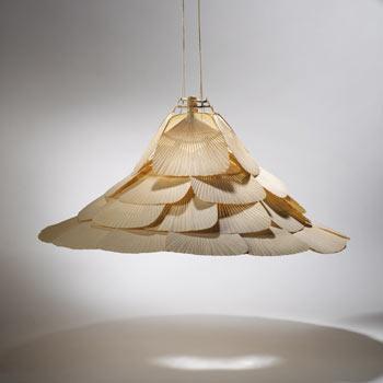 Hana chandelier by Wright