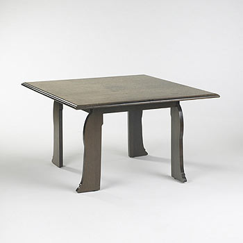 Cabriole leg table, model no.65848