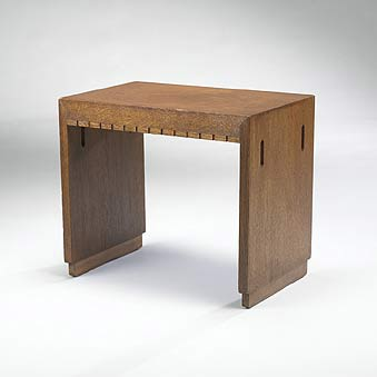 Side table for Wingspread