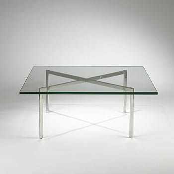 Barcelona coffee table by Wright