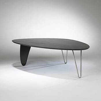 Rudder coffee table, model IN-52