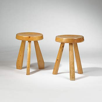 Wright-Stools, pair