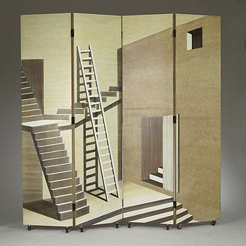 Scaletta folding screen von Wright