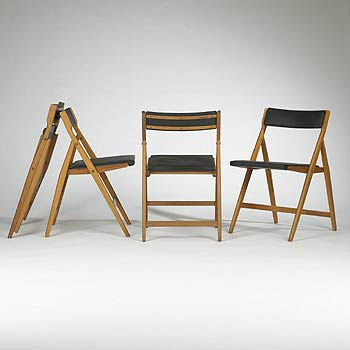 Eden folding chairs, model 320
